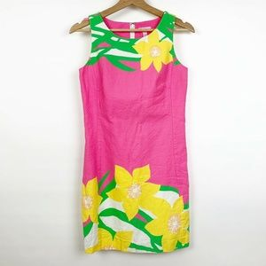 Lilly Pulitzer Floral Print Delia Shift Dress